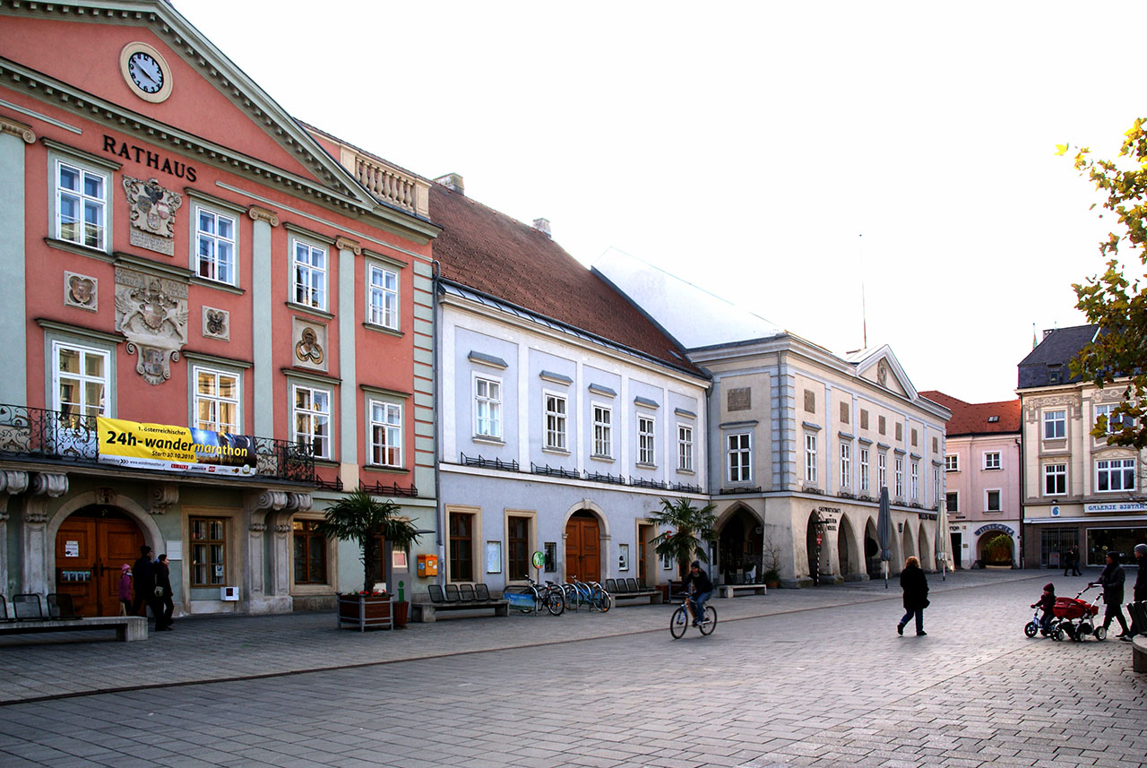Wiener Neustadt, Main Square and City Hall