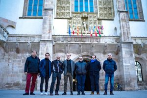 Partners at the meeting in Wiener Neustadt
